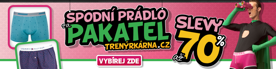 Spodní prádlo za pakatel na Trenýrkárna.cz